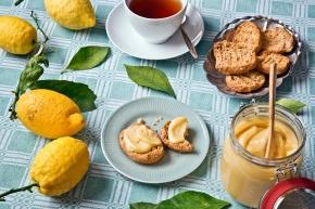 Lemon curd med ingefära