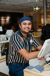 Gruppchefen Khurram Klevedal har hittat sitt drömjobb.