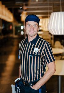 Restaurangchefen Rickard Alm-Nordqvist.