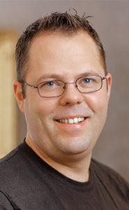Jens Jansson, kock och ordförande för HRF avdelning Mitt.