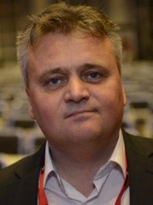Jörn Eggum, förbundsledare för norska Fellesforbundet.