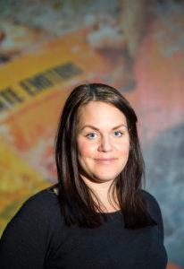 Josefine Lindgren, actionguide och ordförande för Kokpunktens HRF-klubb.