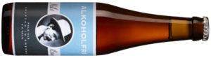 Nils Oscar Alkoholfri, Sverige, 1909, 15:90 kr, 330 ml Alkoholfri nyhet som smakar lika bra som »vanlig« öl. Tallbarr, sirapslimpa och pomerans med märkbar beska är resultatet.