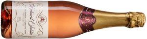 Richard Juhlin Non-Alcoholic Sparkling Wine Rosé, Frankrike, 1983, 89 kr, 750 ml. Alkoholfritt bubbel som håller måttet. Modest sötma med toner av rosor, vinbär, pigg syra och finstämd eftersmak.