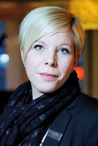 Hotelldirektör Pernilla Johansson.