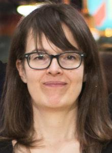 Viktoria Melin, ny aspirant på Stockholmsavdelningen.