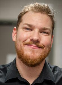 Andreas Jörgensson, hovmästare på Plectrum.