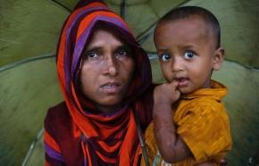 HRF skänker pengar till barn på flykt i Burma