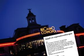 Casino Cosmopol kartlägger anställdas fackmedlemskap