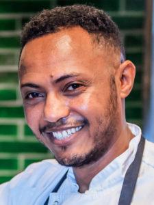 Gerese Hagos Tesfay blivande kock
