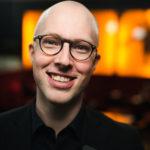 Daniel Nord nattreceptionist på Hotell Aveny i Umeå