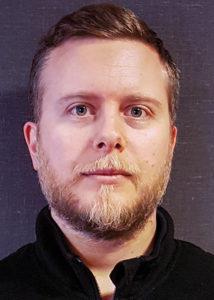Aron Lindén, statsinspektör på Livsmedelsverket
