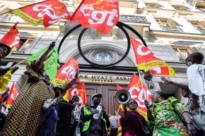 Långdragen strejk vid lyxhotell
