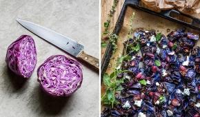 Rostad rödkål med ädelost