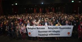 """""""Att vi är en samlad global rörelse är vår styrka"""""""