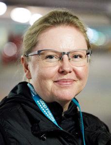 Karin Linsten vägglushundförare