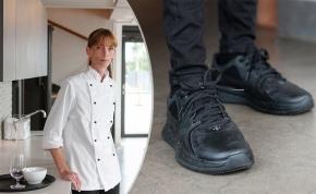 Annica fixade skor åt kollegorna