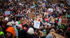 Strejk för klimatet på fredag