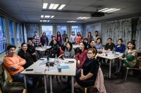 Stort intresse för mongolisk medlemsutbildning