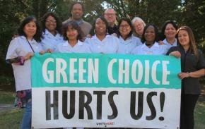 """USA-fack tar kampen mot """"grön städning"""""""