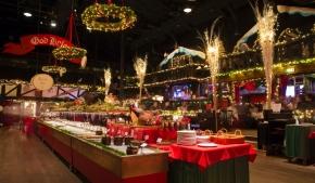 Munskydd och luft på årets julbord