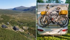 Vandrarhem och camping lockar
