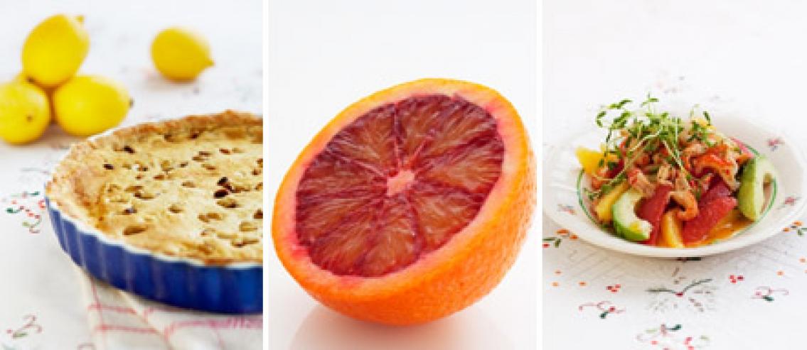Klyftigt med citrus