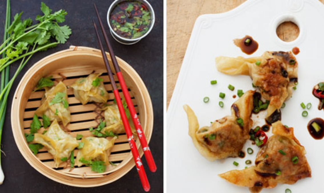 Lättlagade dumplings  för hemmakocken