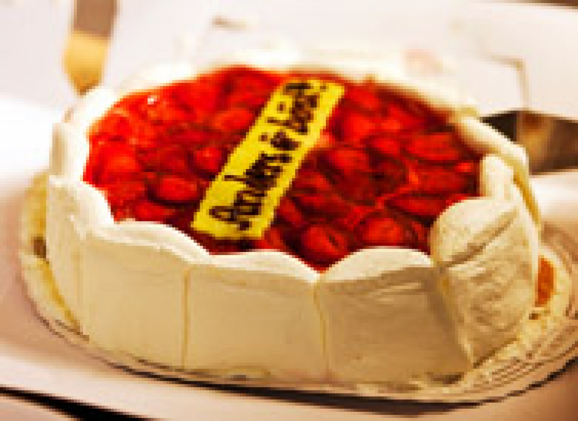 Tårta till Fredens man