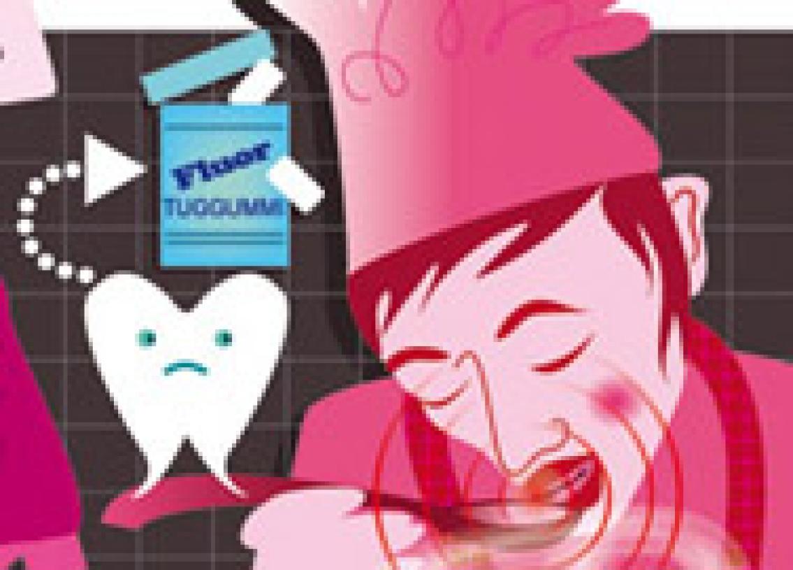 Så skyddar du tänderna  mot kökets faror