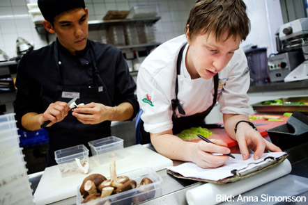 Viktor Westerlind, Årets kock 2009.