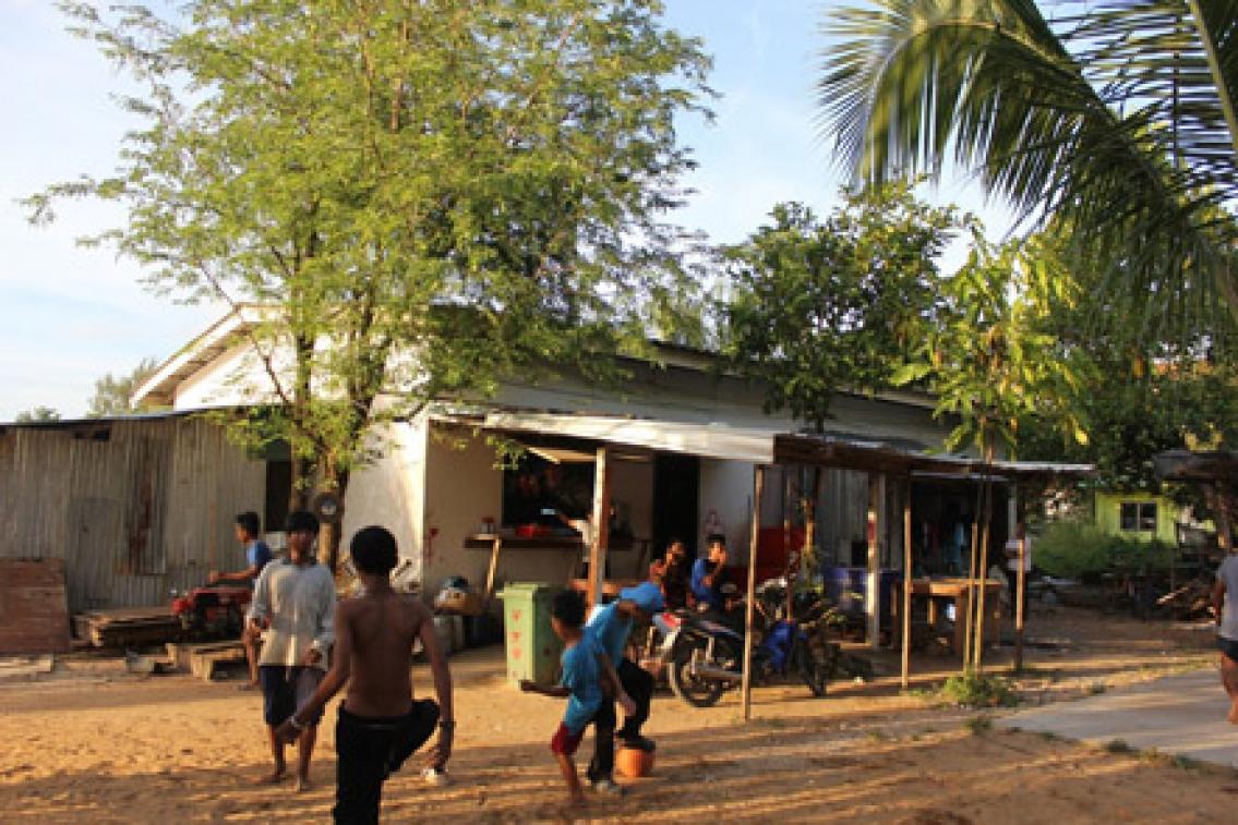 Utsatt liv för barn  i turismindustrin