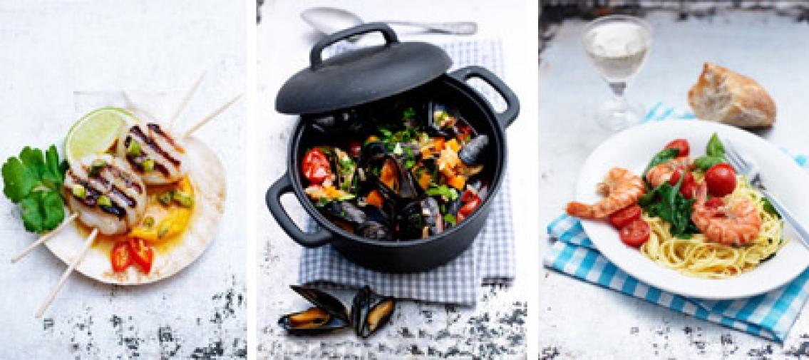 Mums med musslor!